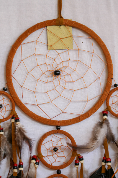 real native dream catcher on pure
