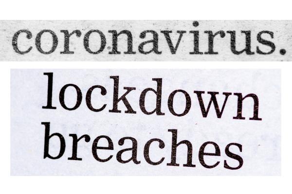 distressed coronavirus headlines from newspapers uk