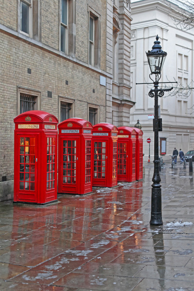 london red boxes