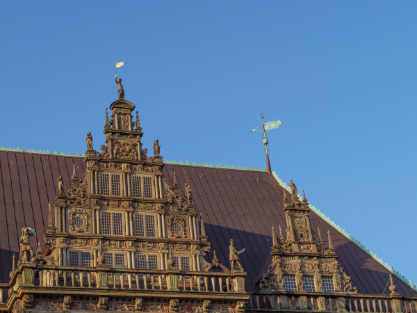 bremen at the weser river in