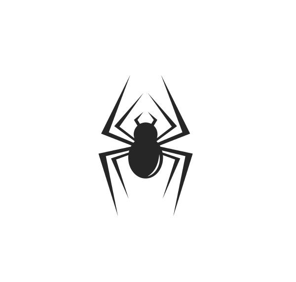spider icon logo vector