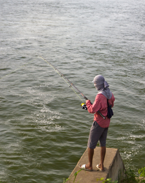 the stand fisherman