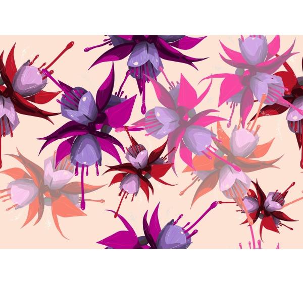 fuchsia seamless background