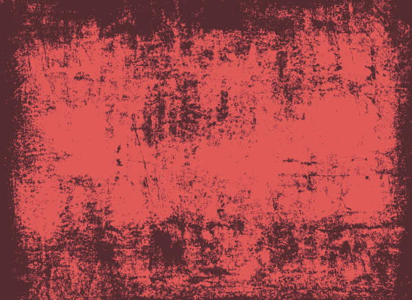 red grunge wall background