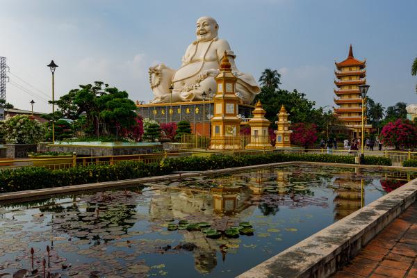 the buddha of the vinh trang