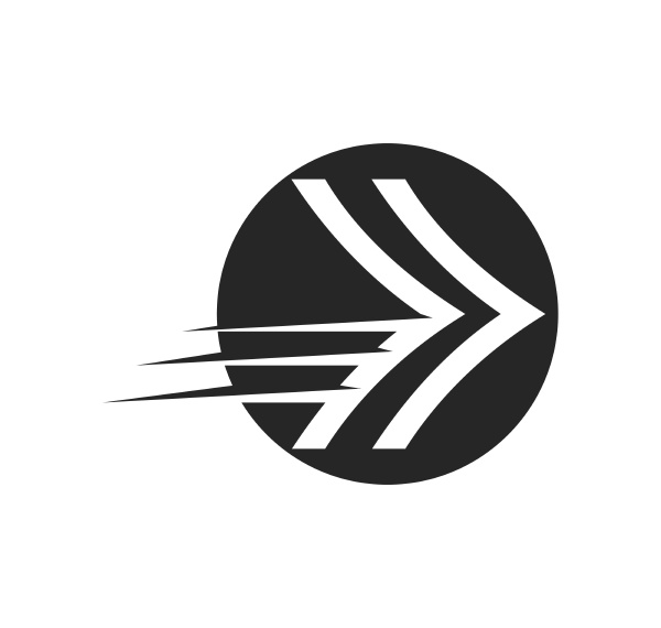arrow vector illustration icon logo of