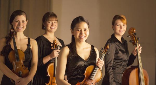 portrait of classical musicians