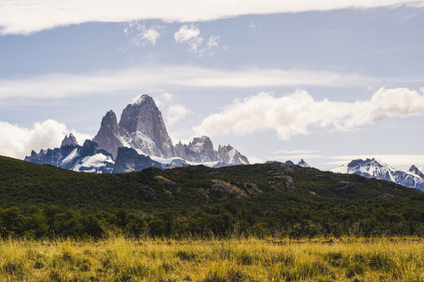 argentina scenic view offitzroy mountain