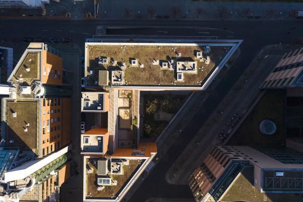 germany berlin aerial view