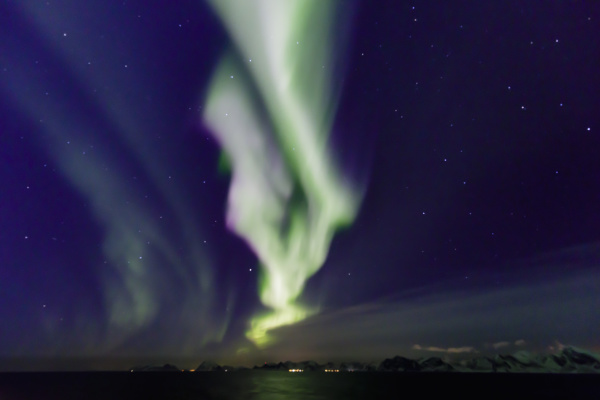northern lights aurora borealis spectacular show