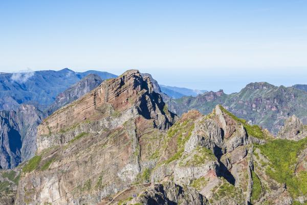 view from pico do arieiro madeira