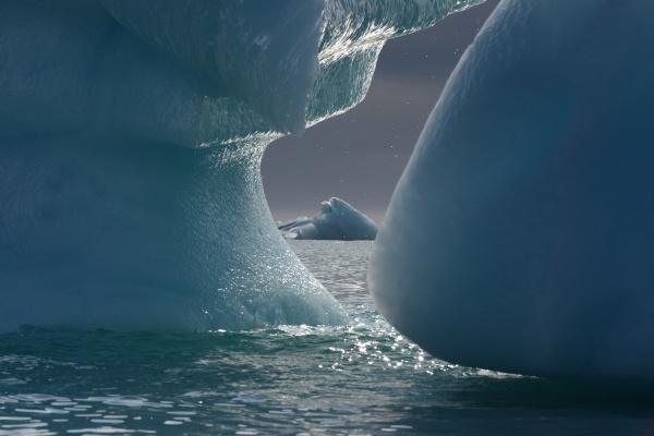 icebergs nunavut and northwest territories canada