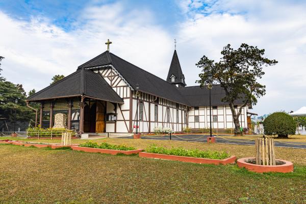 all saints cathedral shillong meghalaya india