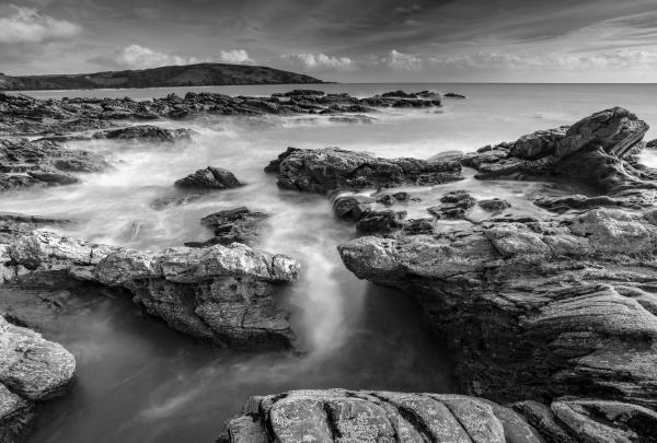 rugged coastal scenery at wembury bay