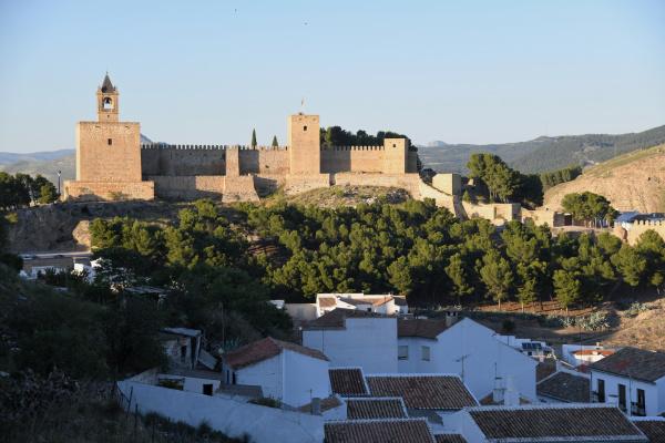 alcazaba of antequera malaga province