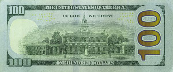 one hundred dollar bill 2