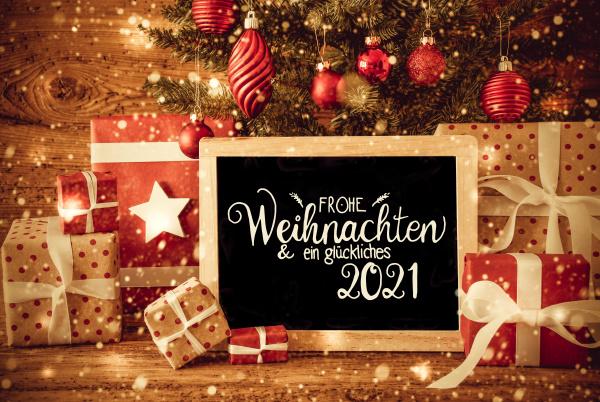 christmas tree gift text