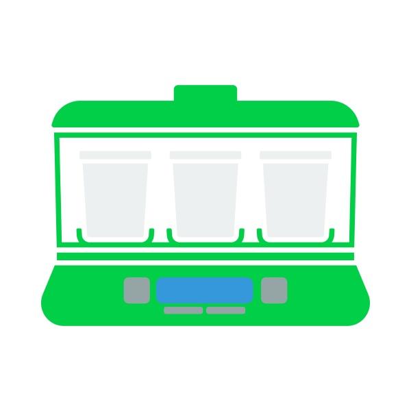 yogurt maker machine icon