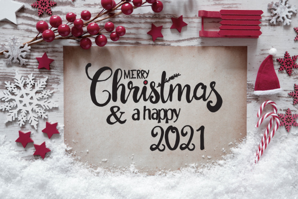 red christmas decoration paper