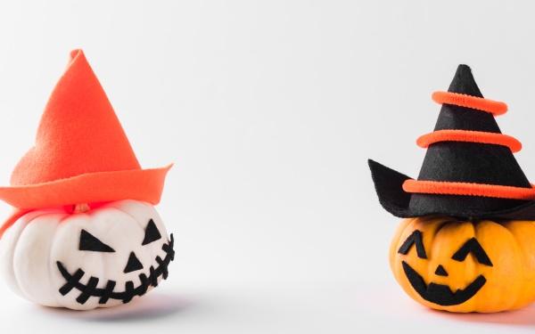 ghost pumpkin head jack lantern scary