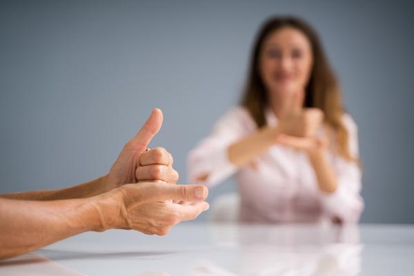 sign language learning