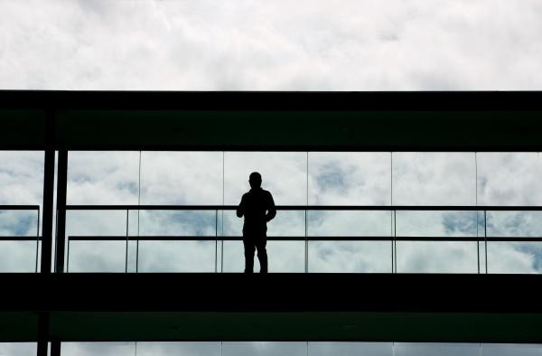 modern office man