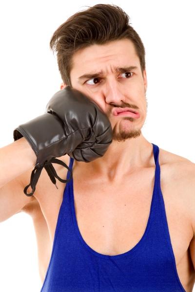 man boxer