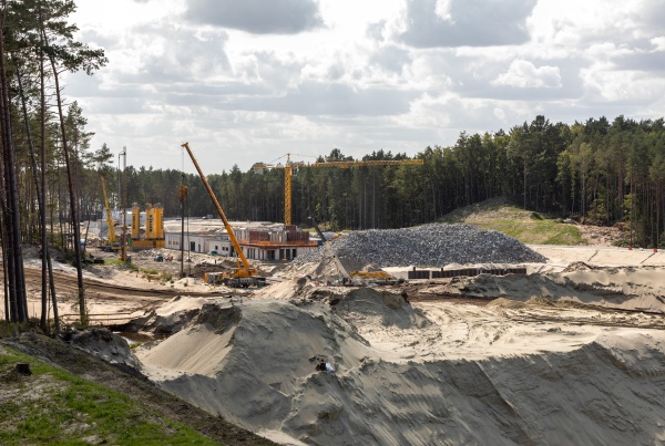 construction of the vistula spit canal