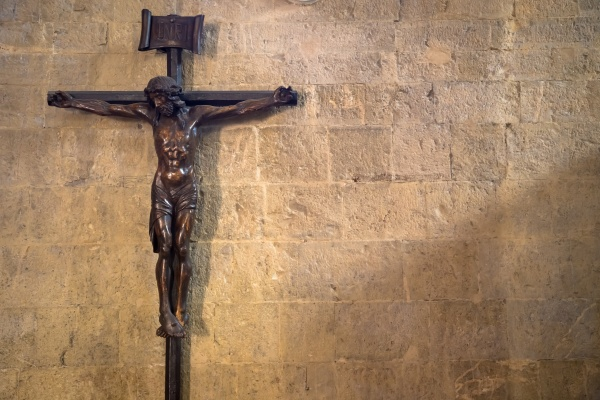 crucifix with jesus christ christian
