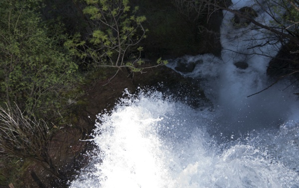 waterfall or cascade in nature
