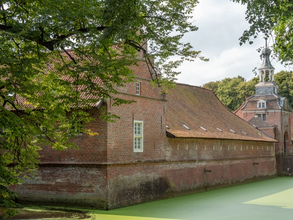 park and castle in eastern frisia