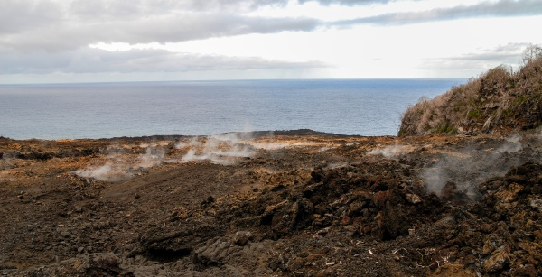 lava flow island of reunion
