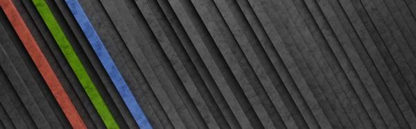 black and colorful diagonal stripes 3d