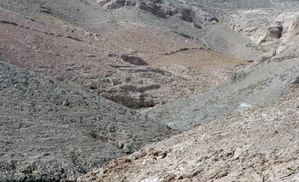 close up image of cliff location