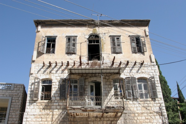 vintage house ghost town detail nazareth
