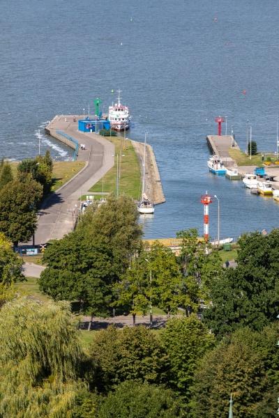 marina and harbor for fishing boats