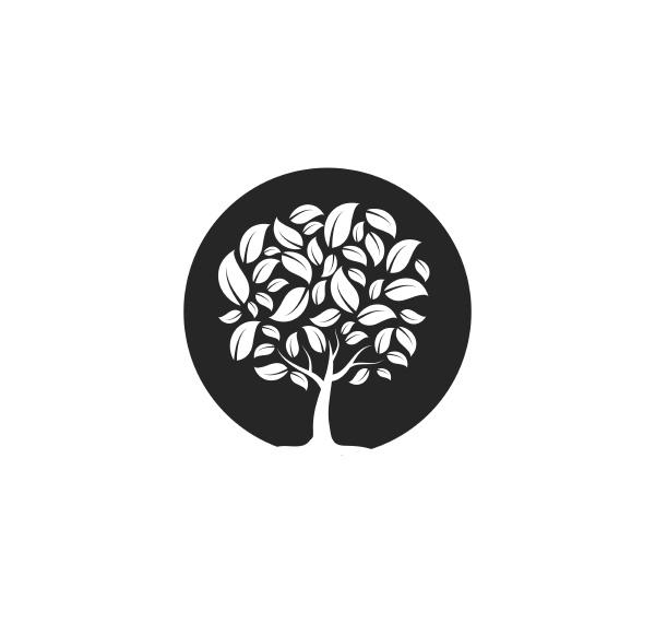 tree icon logo template vector