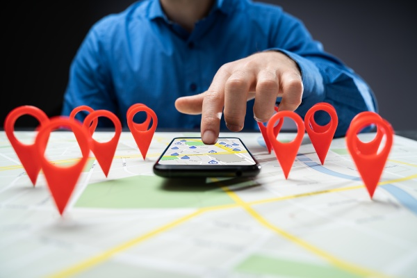 city map locator pin marker search