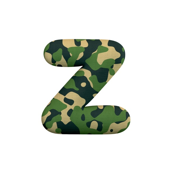 army letter z lower