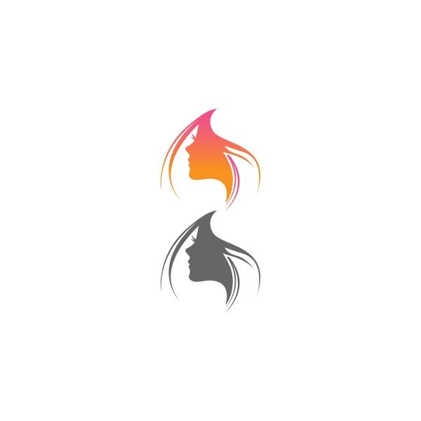 beauty skin icon logo design