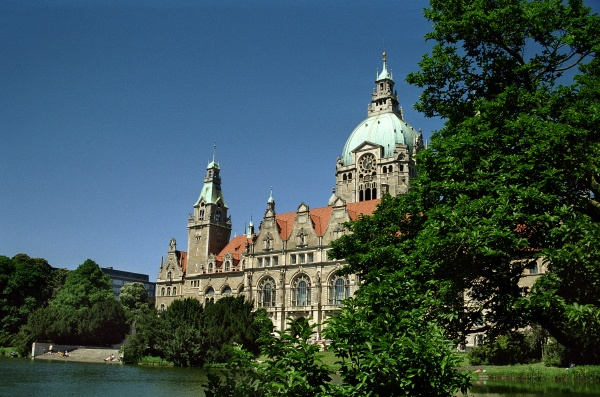 the new town hall of hannover