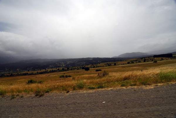 transport routes and mobility in patagonia
