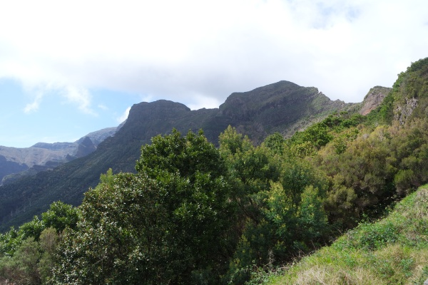 mountain landscape in madeira