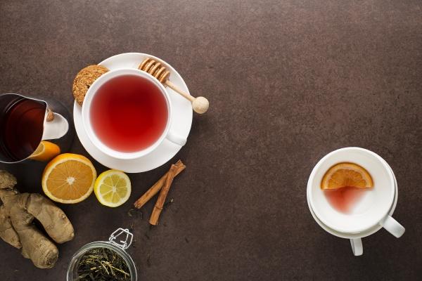 tea fruit ginger