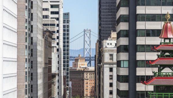 architecture of building with golden gate