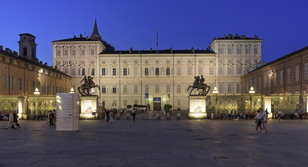italy piemont turin palazzo reale in