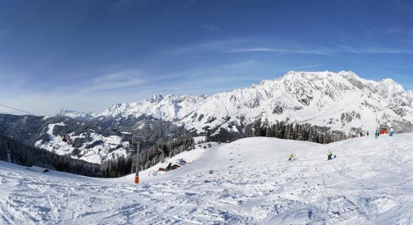 austria ski area muehlbach hochkoenig
