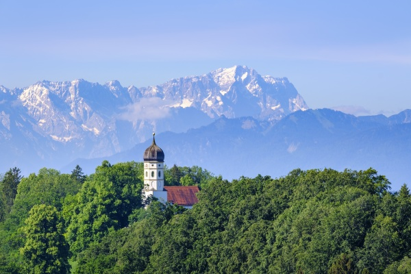 germany, , bavaria, , holzhausen, , saint, johann, baptist - 29125528