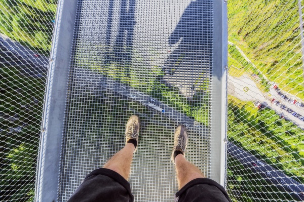 austria legs of senior man