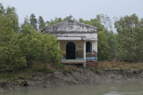 christian church in sundarbans national park